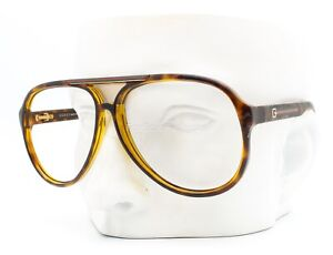 Gucci GG 1627/S 7911W Aviator Sunglasses Frame Brown Tortoise Frame Only