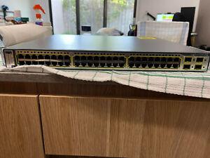 Cisco Catalyst C3750G 48TS-E