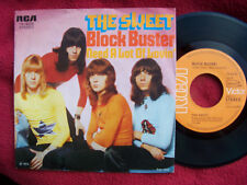 The Sweet - Block Buster / Need a lot of lovin´     Top German RCA 45