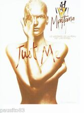 PUBLICITE ADVERTISING  116  1997   Montana  parfum femme Just Me