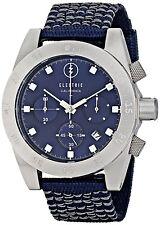 Electric Mens Dive Watch DW01 Analog Japanese Quartz Chronograph Navy Blue Date