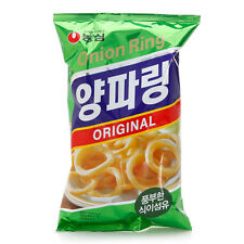 Nongshim Korean Popular Snack Onion Ring Snacks 2pcs - 84g x 2 (Pack of 2)