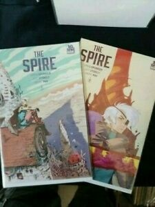 The Spire by Boom! Comics Issue 1 and 2. Been on shelf excellent condition.