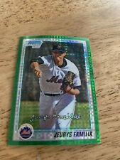 Jeurys Familia 2010 Bowman Chrome Prospects RC Refractor Card #197