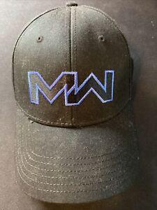 Call Of Duty Modern Warfare Flex Fit Cap/Hat Black Collectible.