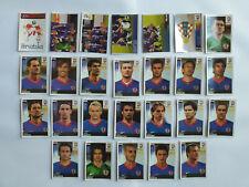PANINI EURO 2008 26 IMAGES EQUIPE COMPLETE SET TEAM CROATIE