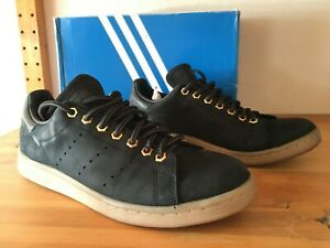 Chaussures Adidas Stan Smith 41 1/3 (US 8) Bleu nuit/GUM Homme OCCASION (TBE)