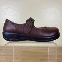 Alegria Kou-656 Kourtney Mary Jane Womens Size 37 / 7-7.5 Hazelnut Brown Leather