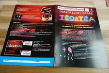 JEAN MICHEL JARRE - Plan média / Press kit !!! TEO & TEA !!!