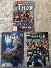 Thor #619 (March 2011, Marvel)-FRACTION , THOR SAGA & THOR #426-FINE  3 BOOK LOT