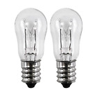 WE4M305 General Electric Dryer Light Bulb, 120V, 10W Pack of 2 NEW photo