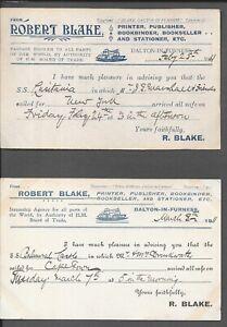 GB 1911 DALTON IN FURNESS ROBERT BLAKE PUBLISHER x 2