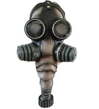 Nazi Gas Mask Latex Adult Bio Chemical Army Military Costume Prop Halloween New
