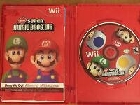 New Super Mario Bros. Wii (Nintendo Wii, 2009) Complete CIB Tested Working