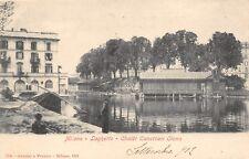 883) MILANO, LAGHETTO CHALET CANOTTIERI OLONA, ANIMATA.