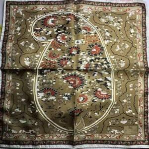 New ETRO pochette Bangalore 45 x 45cm jacket pocket silk scarf handkerchief