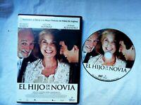 Il Figlio Della Sposa DVD Ricardo Darin Castellano Inglese Filmax DVD 2 Usato