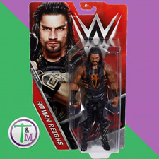 WWE ROMAN REIGNS THE SHIELD RAW MATTEL BASIC SERIES 74 WRESTLING FIGURE ACTION