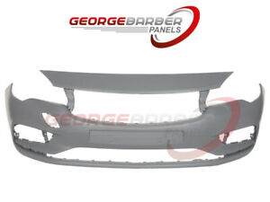 Vauxhall Astra k 2016> Front Bumper No Washers /No Sensors - NEW Primed Approved