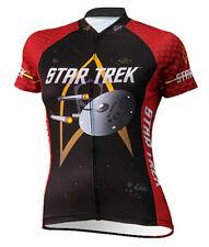 Star Trek USS Enterprise Cycling Jersey Womens by Brainstorm Gear Size Large L