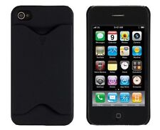 Credit Card ID Case for iPhone 4 / 4S - Black
