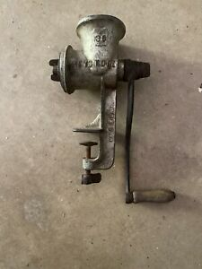 Keystone Meat Chopper Grinder 30 Antique Vintage Kitchen Appliance