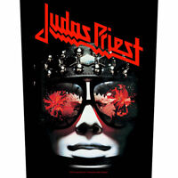 "JUDAS PRIEST - ""HELL BENT FOR LEATHER"" - LARGE SIZE - SEW ON BACK PATCH"