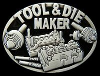 TOOL & DIE MAKER MACHINERY OCCUPATION WORKER BELT BUCKLE BOUCLE DE CEINTURE