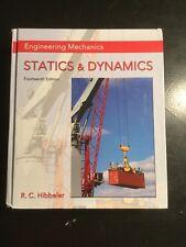 Engineering Mechanics : Statics and Dynamics / Russell C. Hibbeler 14th edition