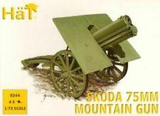 Soldatini 1/72   -WWI Skoda 75mm Mountain Gun - HAT 8244