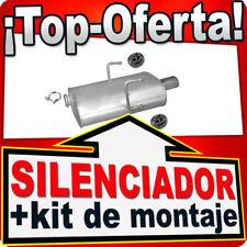 Silenciador Trasero PEUGEOT 406 2.0 16V 97/101 KW COUPE 1999-2004 Escape UXH