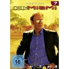 "CSI MIAMI ""SEASON 7"" 6 DVD TV SERIE NEU"