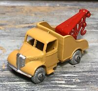 "VTG '55 LESNEY MATCHBOX 2"" Bedford Wreck Truck Tan Body No.13A (GMW)"