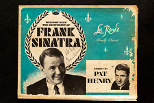 Authentic Frank Sinatra autograph at the Fontainebleau