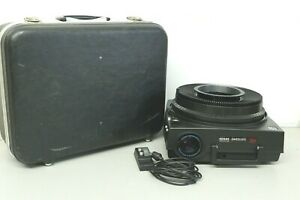 Kodak Carousel 750 H 35mm Slide Projector w/ Remote Tray Hard Case Tested Works