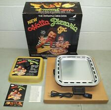 "New!! Vtg MIRRO ""Watta Pizzaria Jr"" Mini Counter-Top PIZZA OVEN (Dorm, Camper)"