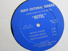 HOTEL Interview lp Merle Oberon Karl Malden Rod Taylor Arthur Hailey etc PROMO