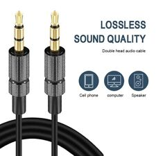 3.5mm AUXILIARY CORD Gold plated Male to Male Cable for Phone Speaker Car PC