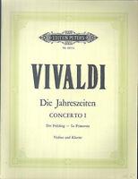 VIVALDI ~ Die Jahreszeiten Concerto I der Frühling - Violine und Klavier
