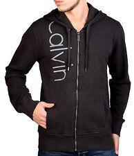 Felpa Uomo con cappuccio e Zip Calvin Klein - Cmq224 999 Black M
