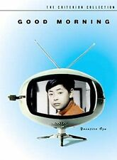 Good Morning (DVD, 2000, Criterion Collection)