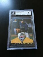 Alex Rodriguez 1997 Pinnacle All-Star FanFest Playing Cards BGS grade 8 PSA RARE