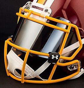 WASHINGTON REDSKINS NFL UNDER ARMOUR Football Helmet MIRROR Eye Shield / Visor