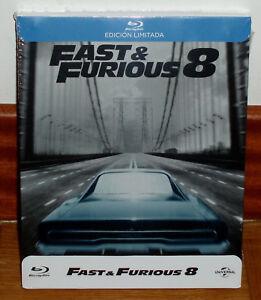Fast Furious 8 Blu-Ray Edizione Limitata Steelbook Nuovo Sigillato (Senza R2