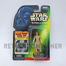 STAR WARS Kenner Hasbro Action Figure - POTF POTF2 Leia Organa Ewok Celebration