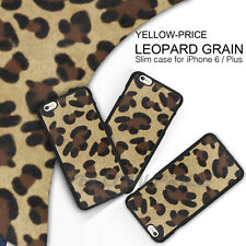 Slim Girly Sexy leopard Skin Rubber Matte Case Cover  for Apple iPhone 6  Plus