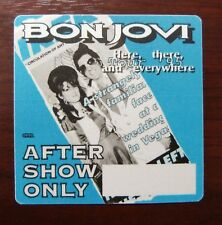 Bon Jovi - Here, there, and everywhere Tour 1995 - VIP - Aftershow Pass