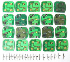 Lot bulk of 20 ABO1502T OEM  circuit boards keyless remote control clicker fob