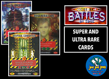 More details for dr doctor who battles in time super and ultra rare cards - all sets - restocks!