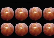 8 X HIMALAYAN CRYSTAL ROCK SALT TEA LIGHT CANDLE HOLDER PURE NATURAL XMAS GIFT